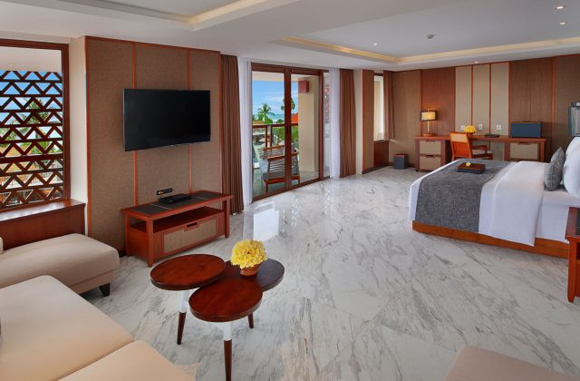 Grand Suite Ocean View Room on The Bandha Hotel & Suites Legian
