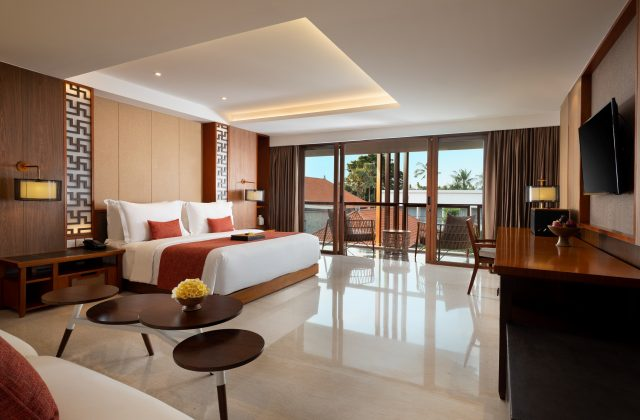 Junior Suite Room at The Bandha Hotel & Suites Legian Bali